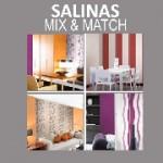 Обои для стен Grandeco каталог Salinas Mix&Match